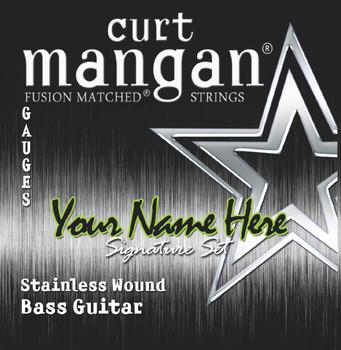 3 X Stainless 5-String Custom BASS GUITAR String Sets