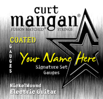 8 X COATED Nickel Wound 7-STRING Custom Guitar String Sets