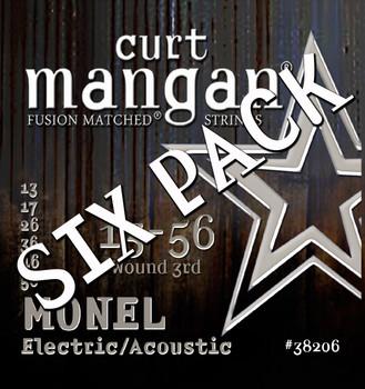 Monel Hex Core 13-56 Medium  SIX PACK