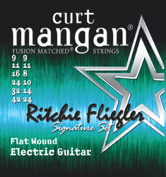 9-42 Flatwound Ritchie Fliegler Custom 12 String