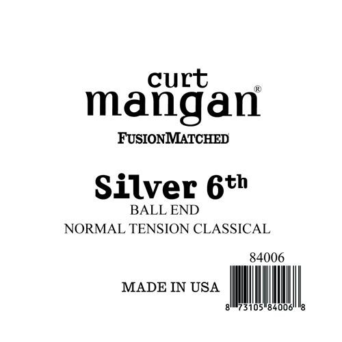 Silver 6th Ball End Normal Tension Single String