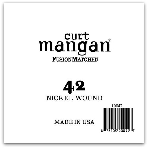 42 Nickel Wound Ball End Single String