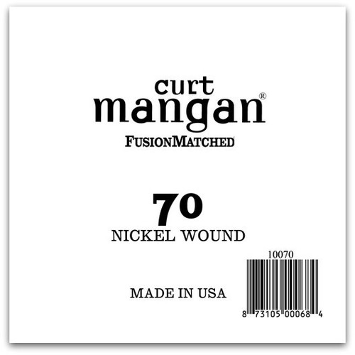 70 Nickel Wound Ball End Single String