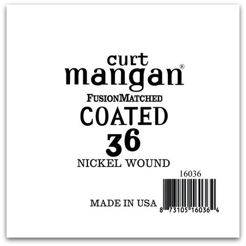 36 Nickel-Plated Steel COATED Single String