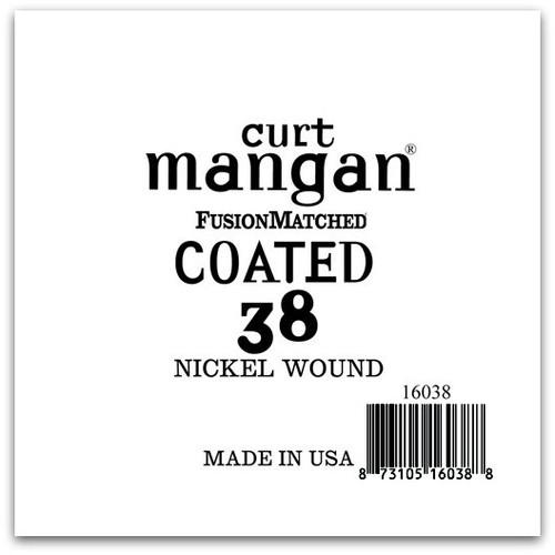 38 Nickel-Plated Steel COATED Single String