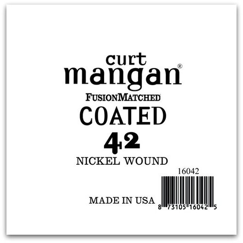 42 Nickel-Plated Steel COATED Single String
