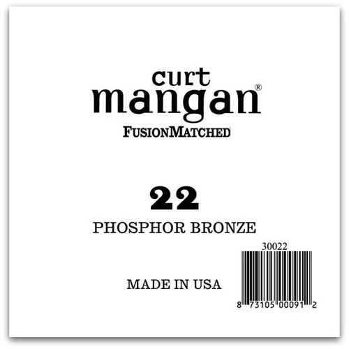 22 PhosPhor Bronze Single String