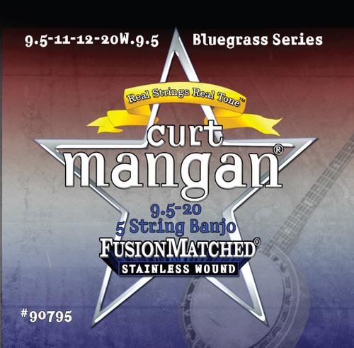 9.5-20 5 String Banjo Stainless