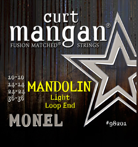 Monel Mandolin Light 10-36