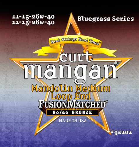 80/20 Mandolin 11-40 Medium