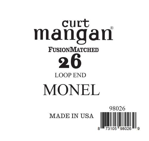 26 Monel LOOP END Single String