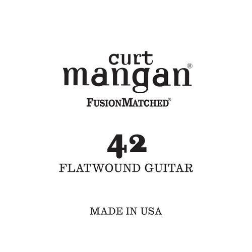42 Flatwound Guitar Single String