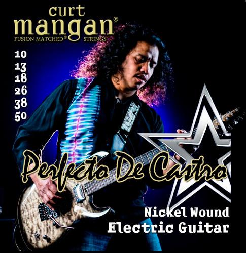 Perfecto De Castro's Custom Signature 10-50 Nickel Wound Set PACK OF 3