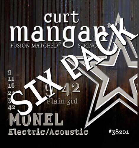 Monel Hex Core 9-42 SIX PACK