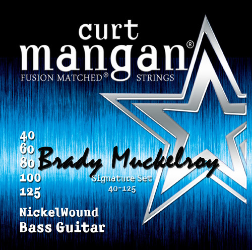 Brady Muckelroy Custom 40-125 5 String Set