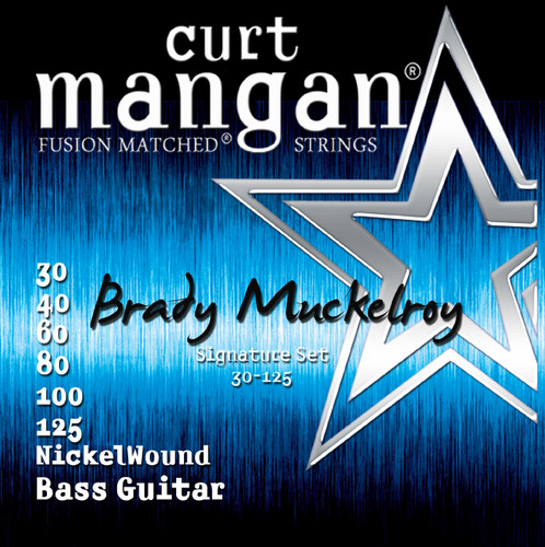 Brady Muckelroy Custom 30-125 5 String Set