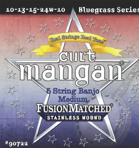 5-String Banjo Medium Stainless