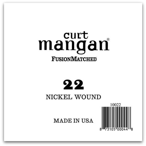22 Nickel Wound Ball End Single String
