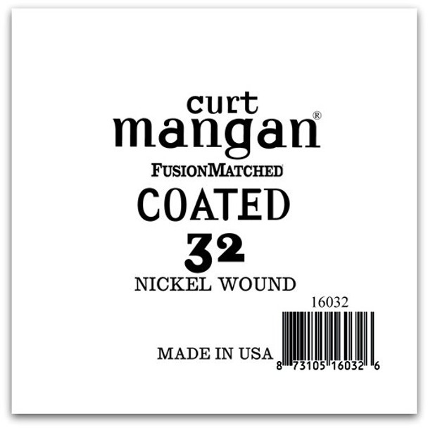 32 Nickel-Plated Steel COATED Single String