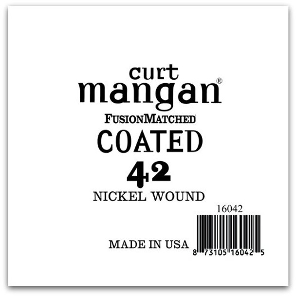 42 Nickel-Plated Steel COATED Single String