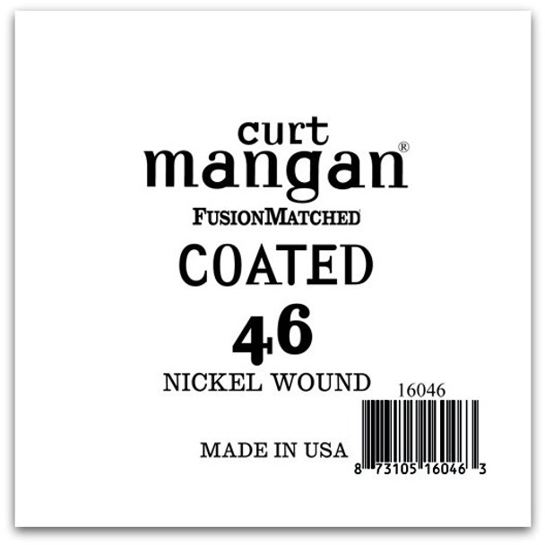 46 Nickel-Plated Steel COATED Single String
