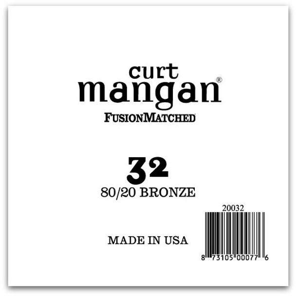 32 80/20 Bronze Single String