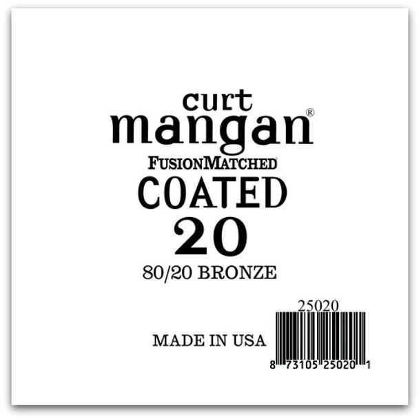 20 80/20 Bronze COATED Single String