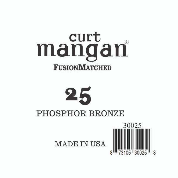 25 PhosPhor Bronze Single String