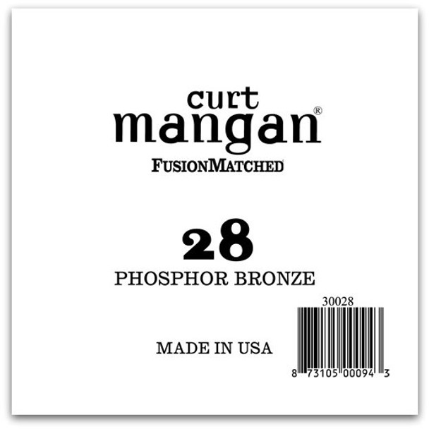 28 PhosPhor Bronze Single String