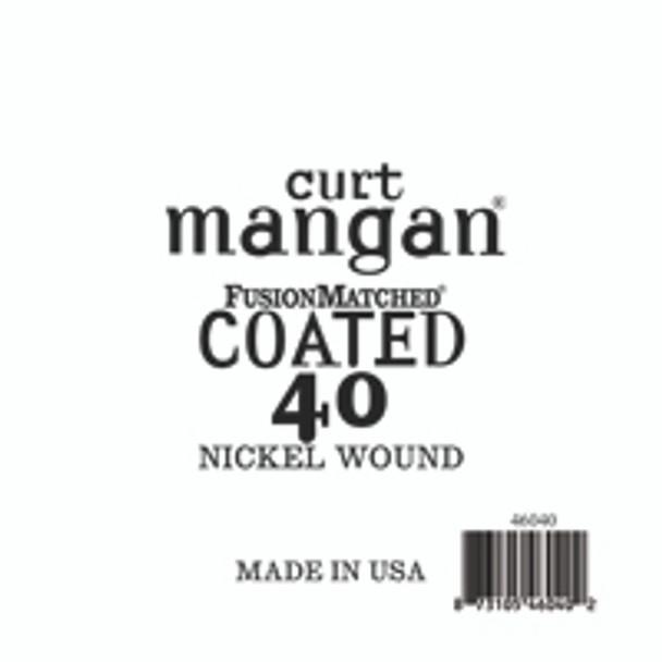 40 Nickel Bass COATED
