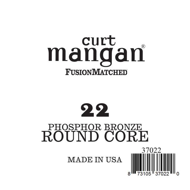 22 Phozphor Bronze ROUND CORE Single String