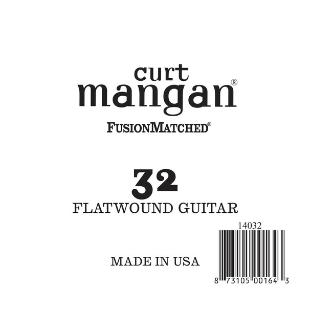 32 Flatwound Guitar Single String