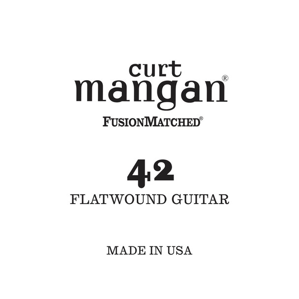 42 Flatwound Guitar Single String