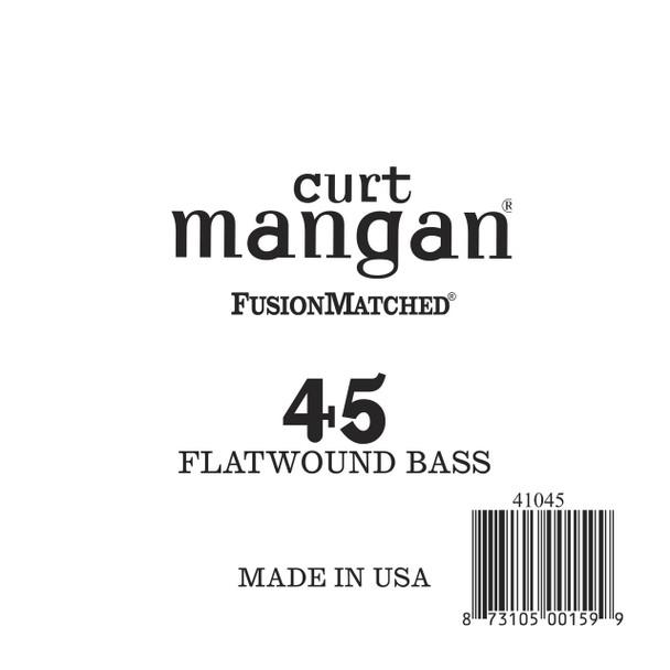45 FlatWound Bass Guitar Single String