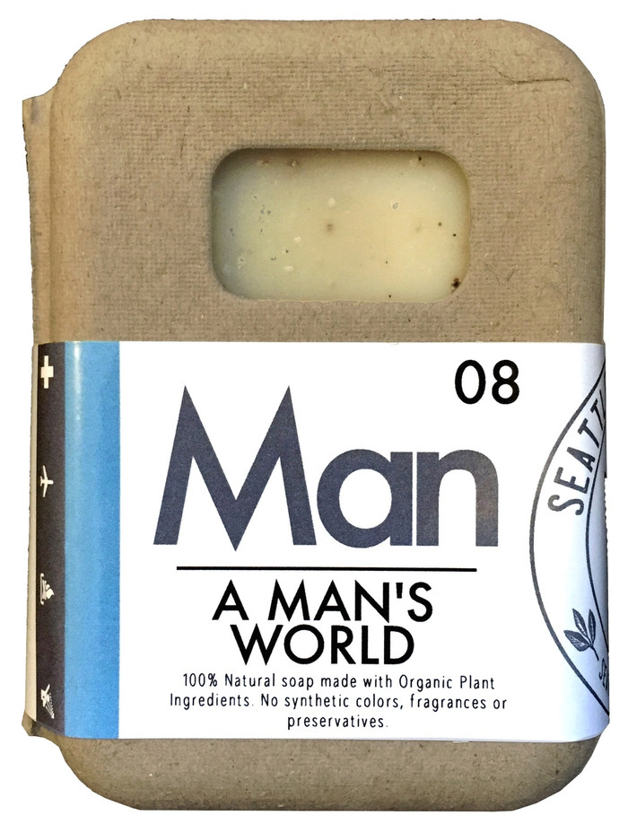Organic Soap - A Man's World
