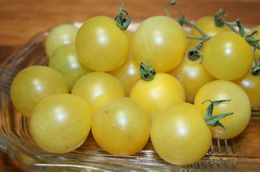 Organic Snow White Cherry Tomatoes