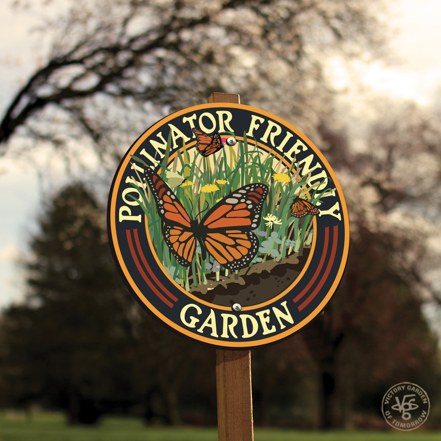 Butterfly Friendly Garden Sign