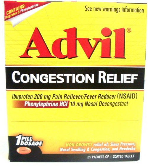 ADVIL CONGESTION BOX