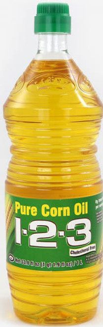 123 CORN OIL 12/33.8oz
