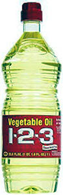 123 VEGETABLE OIL 12/33.8oz