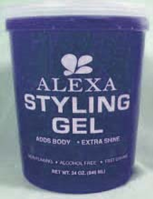 ALEXA STYLING GEL BLUE 34oz/12