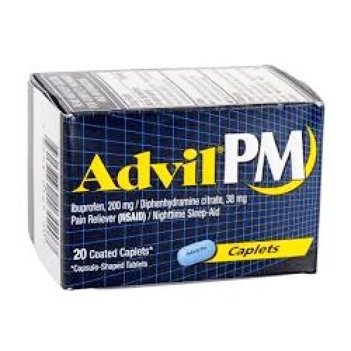 ADVIL PM x 20 CAPLETS
