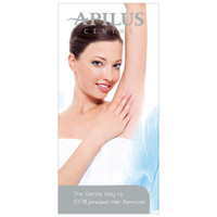 Apilus Gentle Permanent Hair Removal Brochure