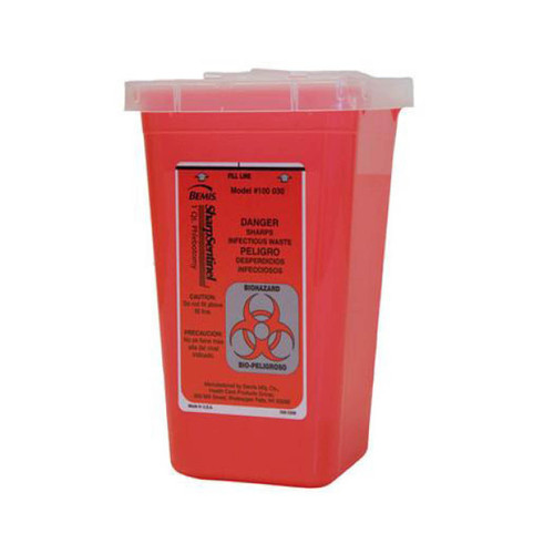Sharp Sentinel Biohazard Disposal