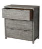 Tuscan 3 Drawer Dresser - Grey Wash