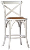 White Aston Counter Stool