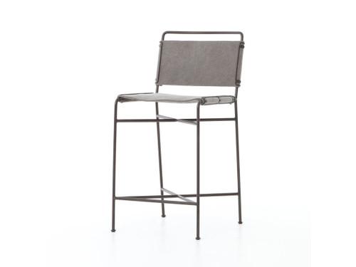 Arton Counter Stool - Grey