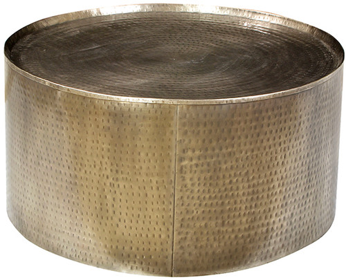 Harp Coffee Table -  Brass