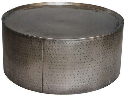 Harp Coffee Table - Nickel