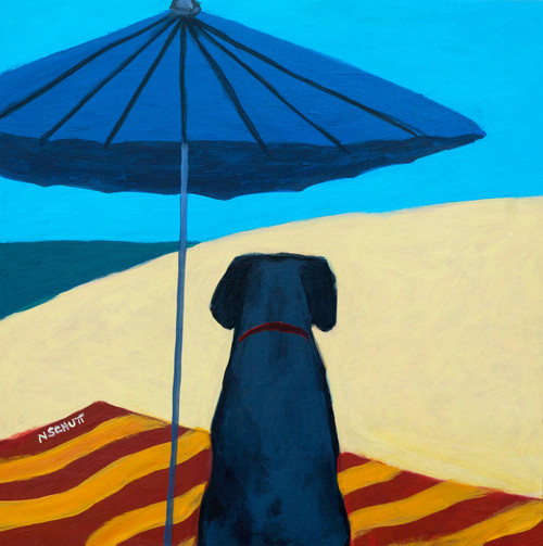 Beach Dog (also called Umbrella Dog)